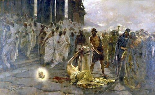 The Beheading of Saint Paul by Enrique Simonet, 1887