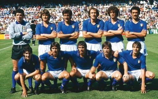 The Italian football team that won the 1982 FIFA World Cup