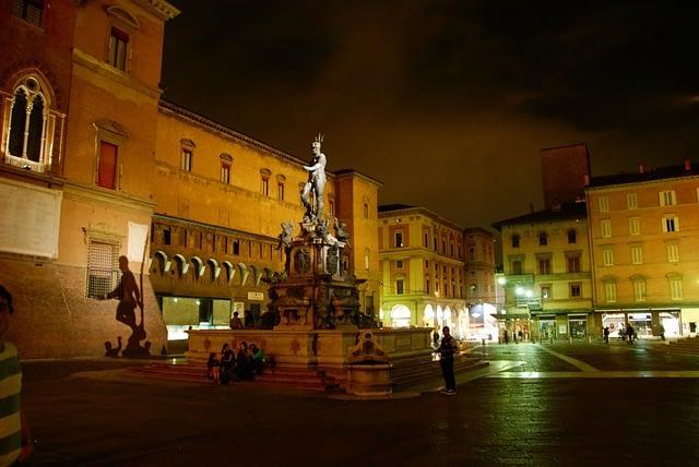Bologna - Neptune Fountain, Piazza Maggiore
