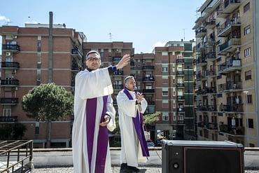 Coronavirus: Rome's Prayer to Mary from Church Roof Terrace