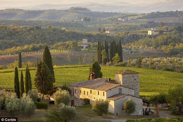 Tuscany countryside, Chianti district