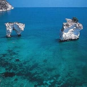 Gargano Promontory bay, Apulia, south-east Italy