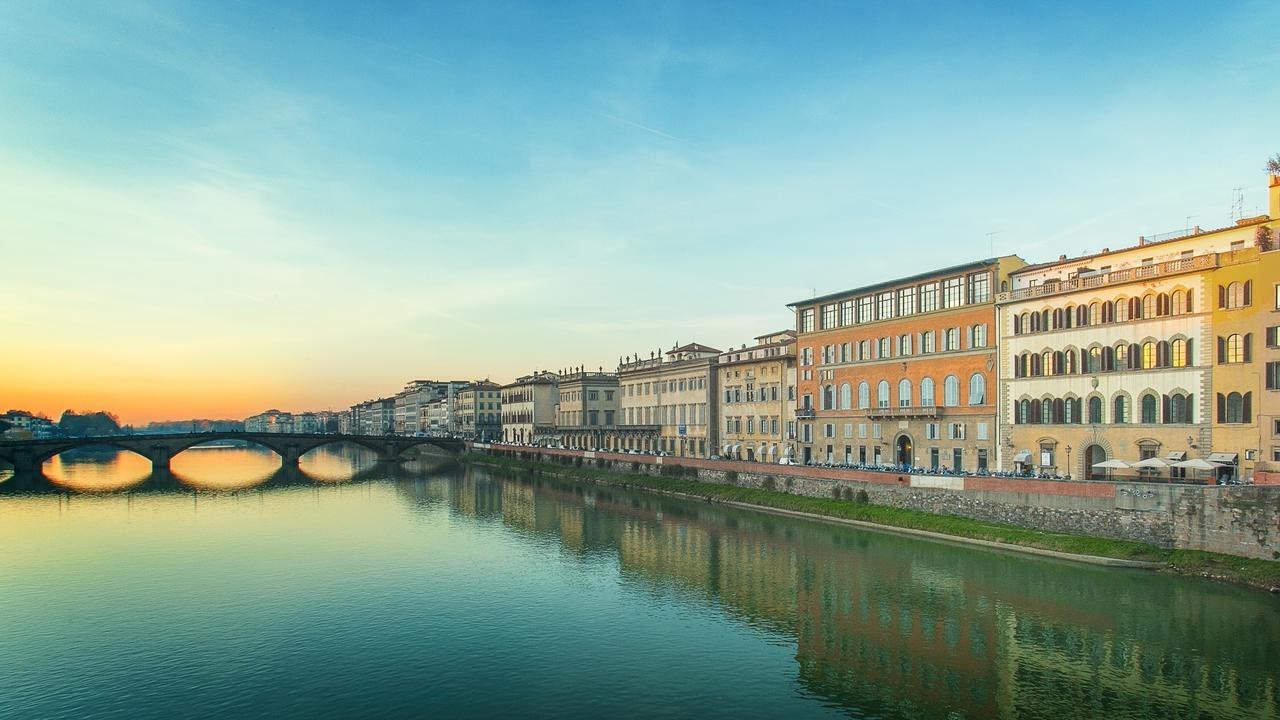 Florence - Hotel Bretagna, a view