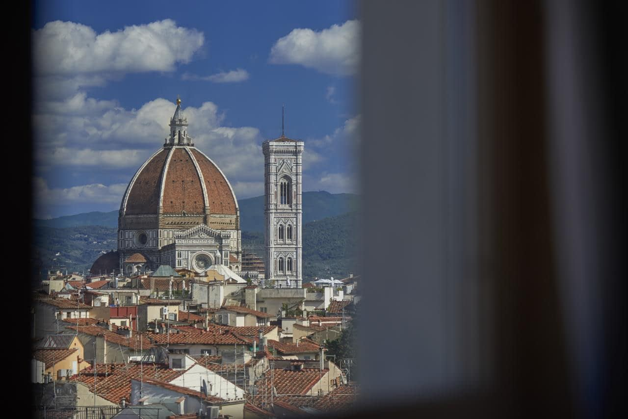 Florence - Grand Hotel Adriatico room's view