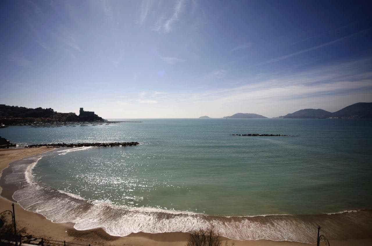 Lerici - Hotel Florida, a view
