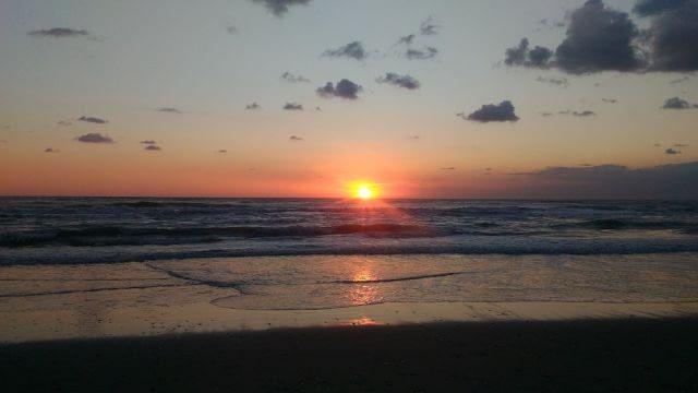 Dawn on the Abruzzo Adriatic Coast