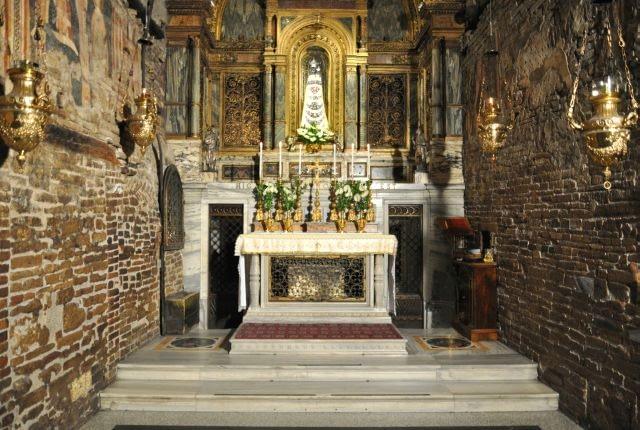 Holy House inside Loreto Basilica