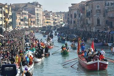 Venice Carnival - Canal Parade
