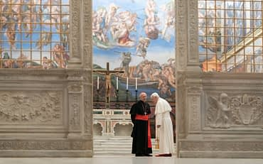 The Two Popes, Netflix movie