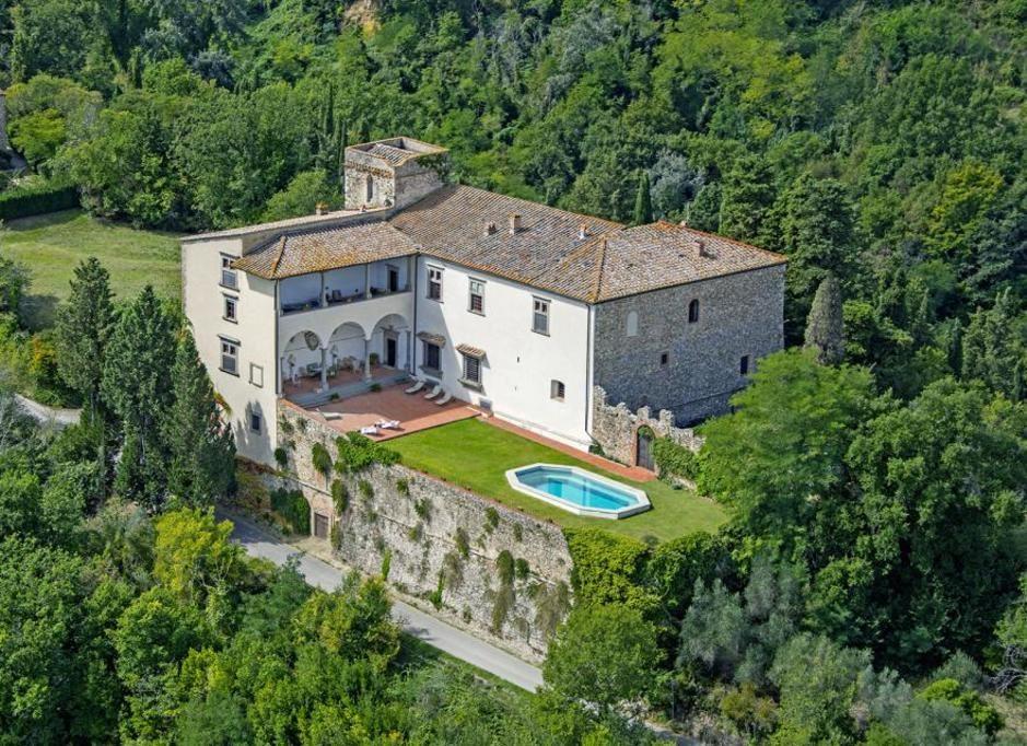 The splendid, historic Castello di Pergolato in Chianti, Tuscany