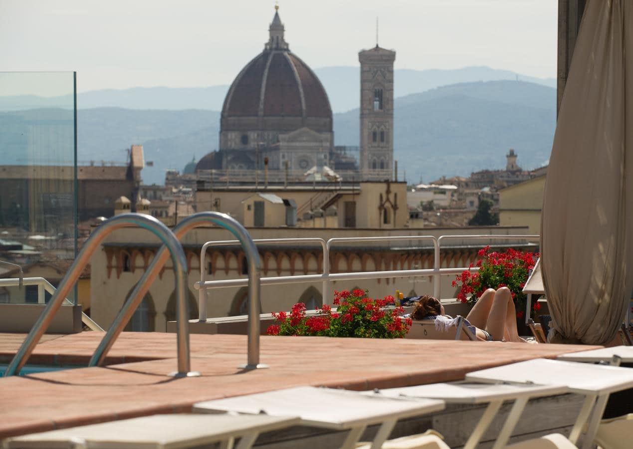Florence - Hotel Kraft, a view