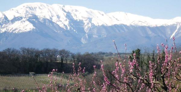 Majella Mountain from Ortona, Abruzzo
