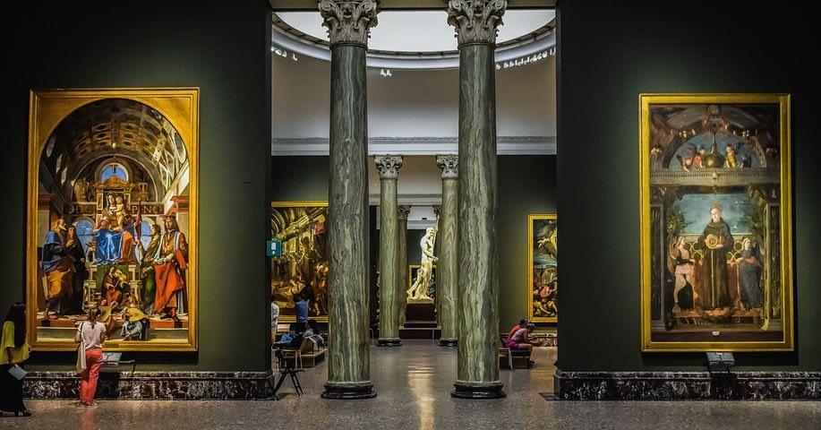 Milan - Pinacoteca di Brera, world-class art gallery