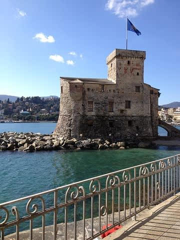 Rapallo - The Castle on the sea, symbol of the town