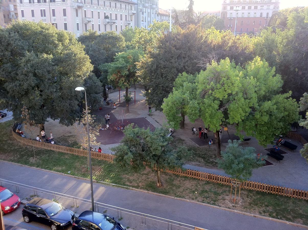 Milan - Hotel Aspromonte, a view