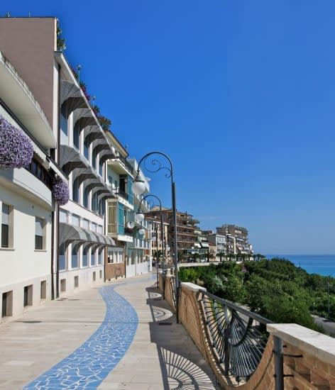 Ortona Seafront Promenade