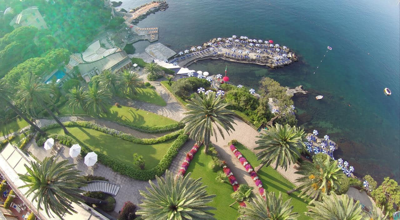 Santa Margherita Ligure - Hotel Continental, a view