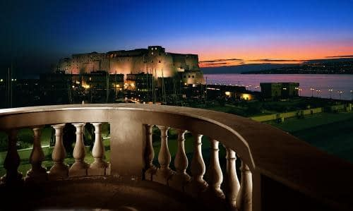 Naples - Grand Hotel Santa Lucia