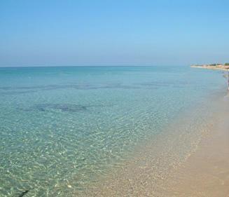 Gargano Peninsula beach, Puglia Italy