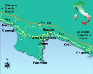 Portofino Promontory map