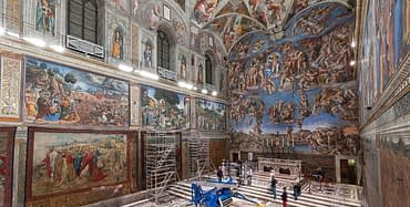Rome, Sistine Chapel - Raphael's Tapestries Exhibition