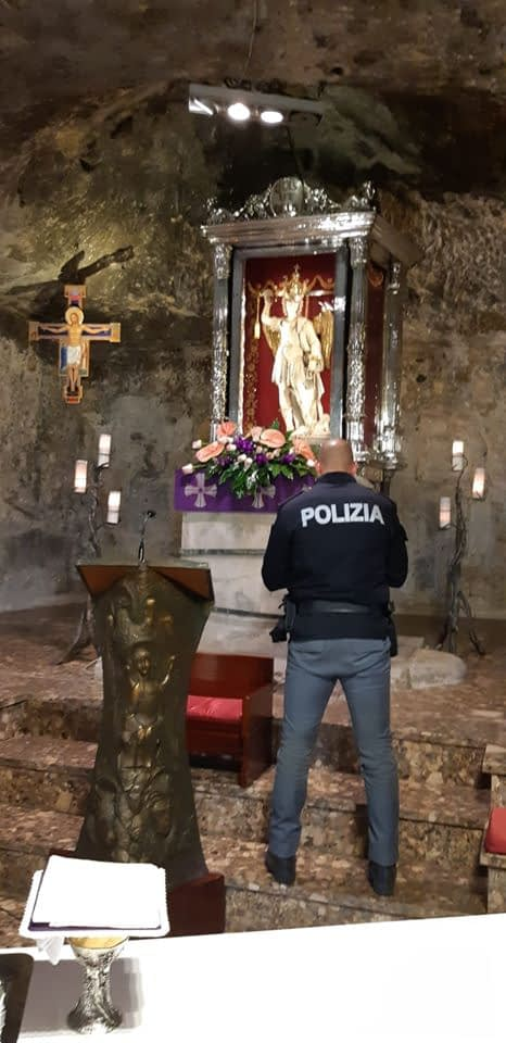 Coronavirus. Italian Police Entrusts Italy to Saint Michael the Archangel