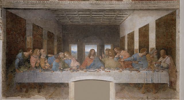 Milan - Leonardo da Vinci's The Last Supper fresco in Santa Maria delle Grazie Refectory