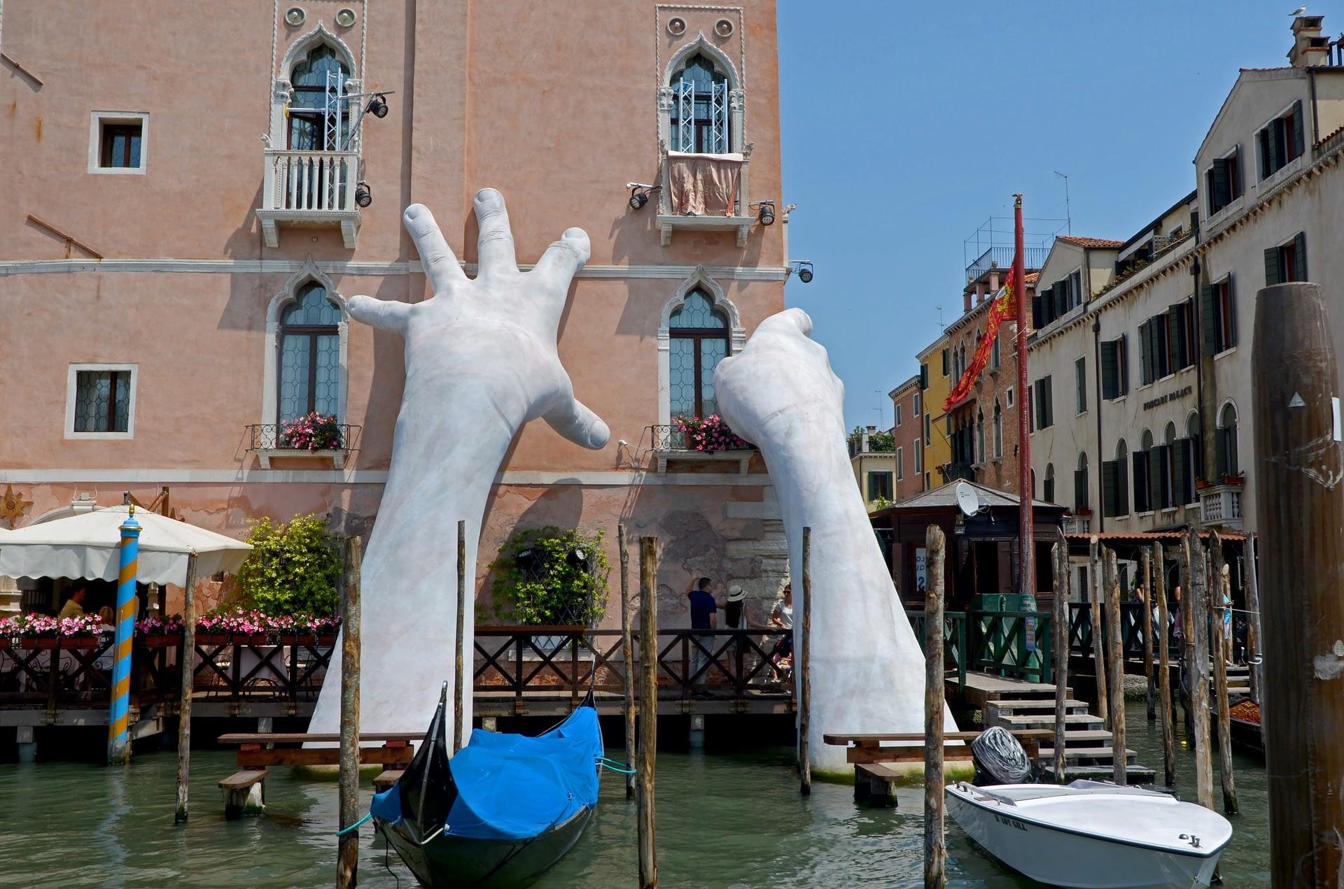 Venice Strange Sculpture