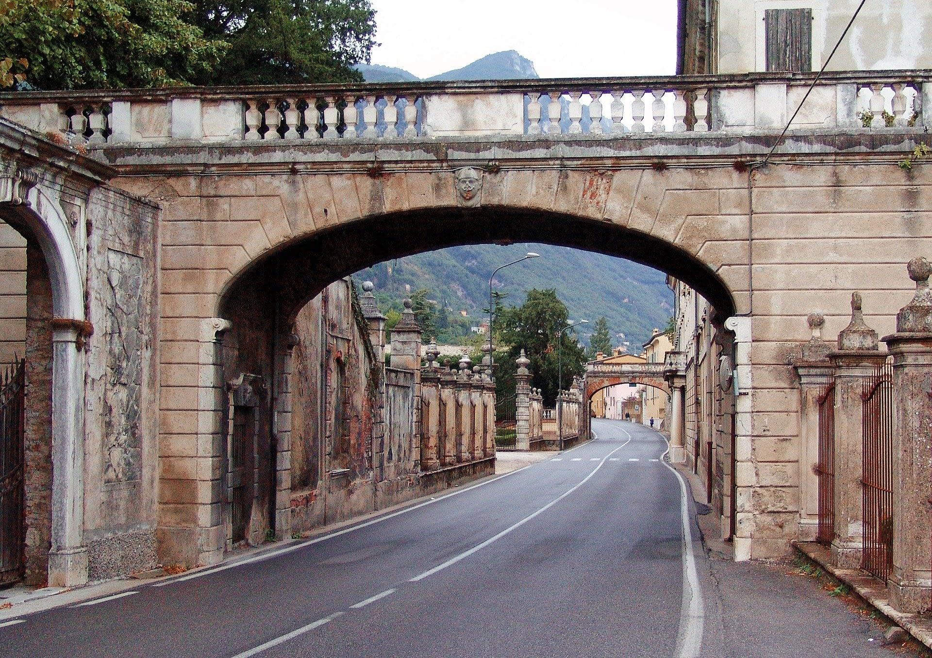 Lake Garda, Gardesana Road, Italy