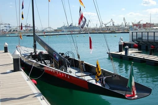 Italian yacht Luna Rossa