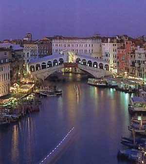 Venice - Rialto Bridge on Grand Canal
