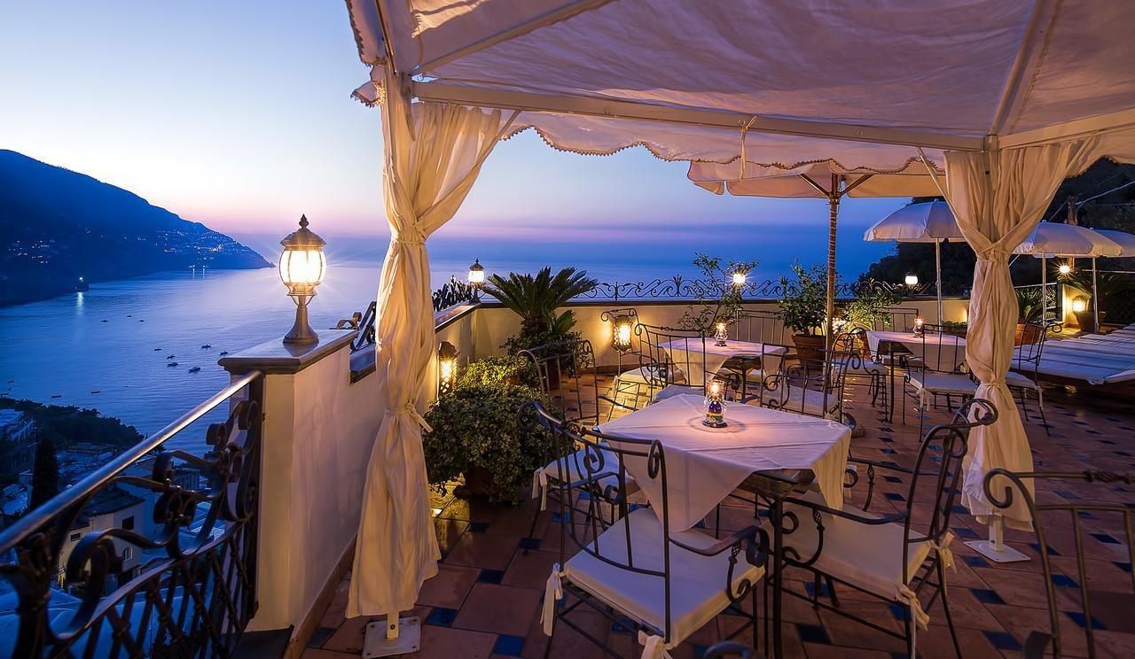Hotel Conca d'Oro in Positano terrace