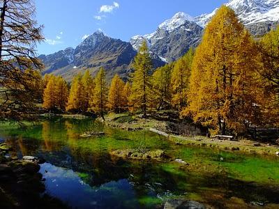 Aosta Valley Italy, Lago Bleu