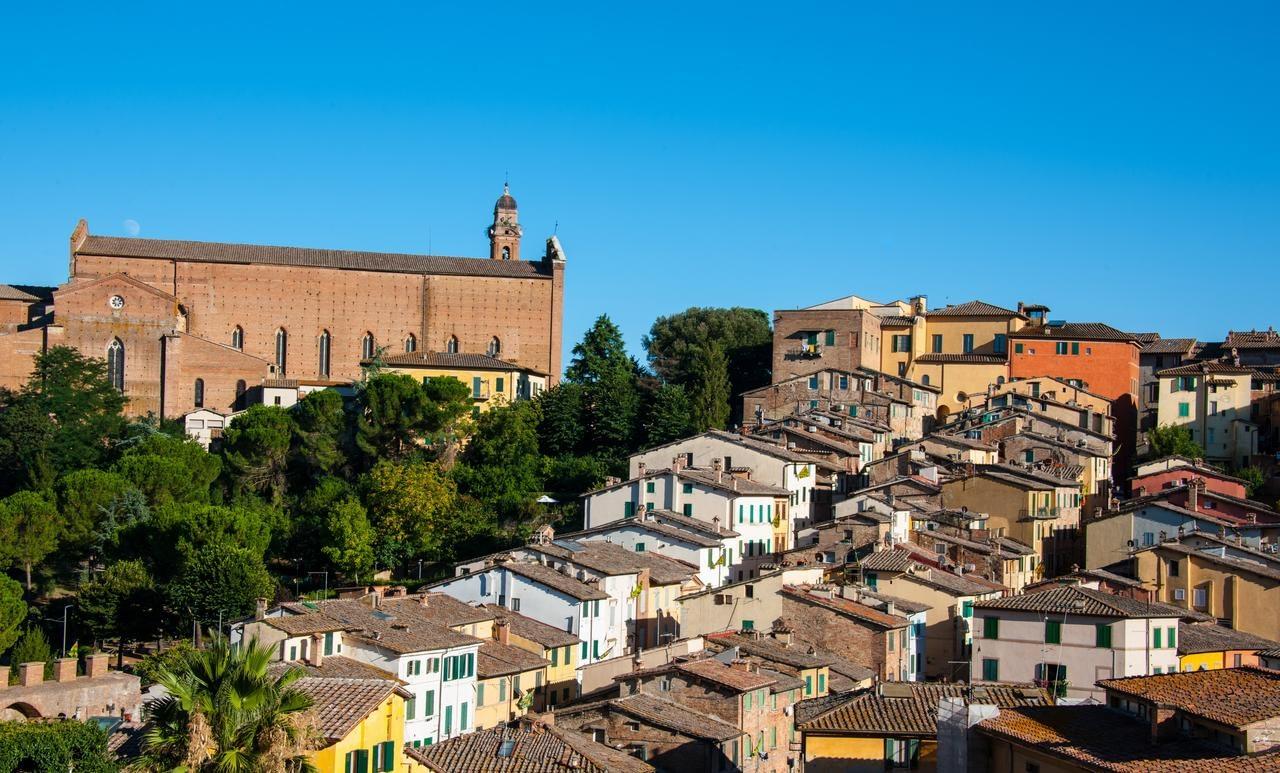 Siena - Hotel Minerva, a view