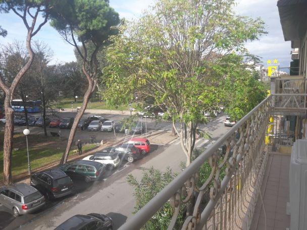 Viareggio Beach Apartment Giardini del Mare front balcony view