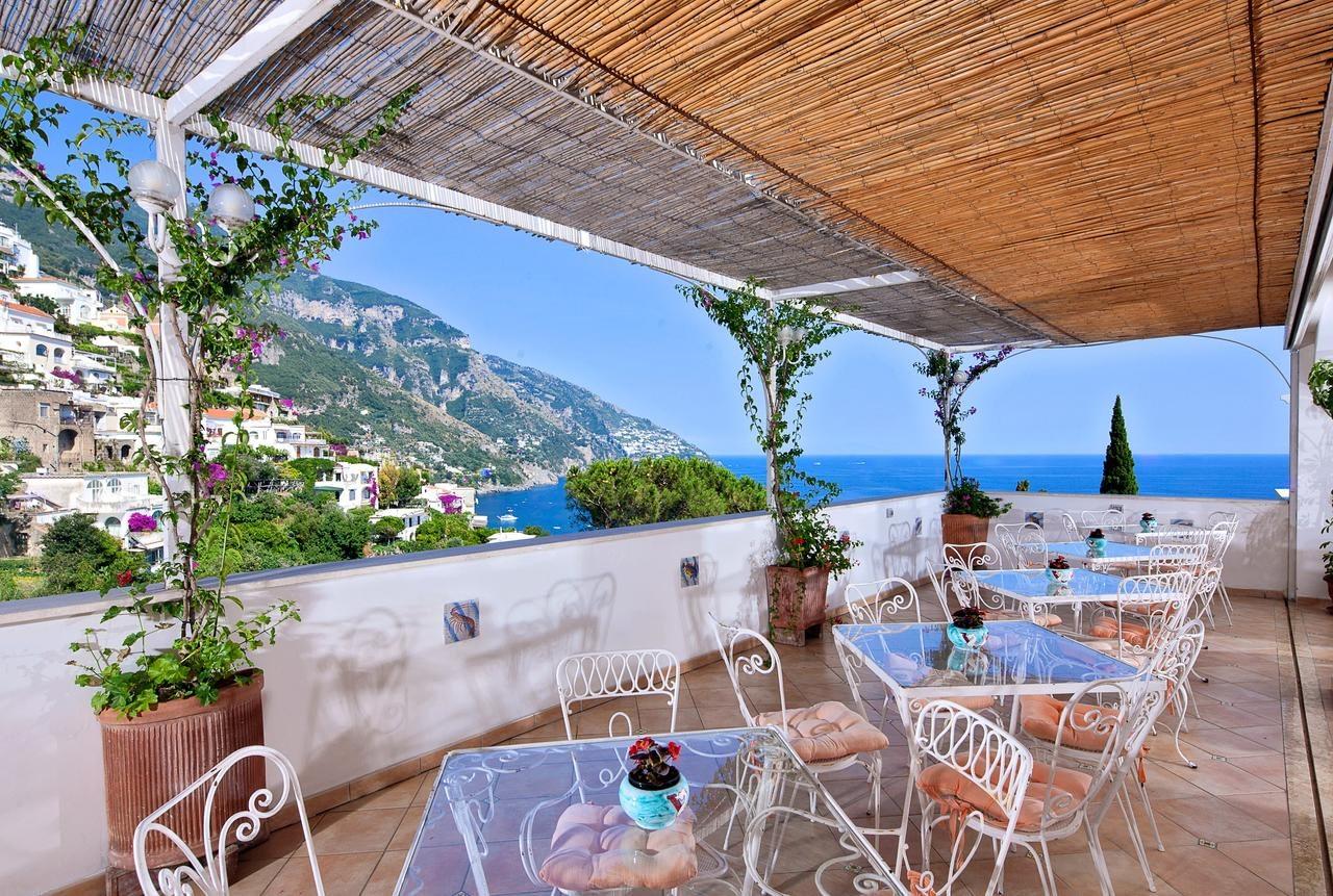 Hotel Vittoria in Positano terrace