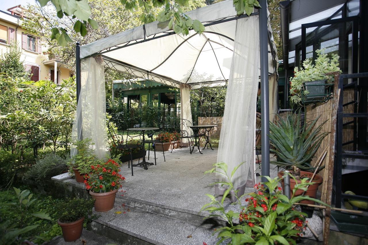 Milan - Hotel Adler, the hotel's garden