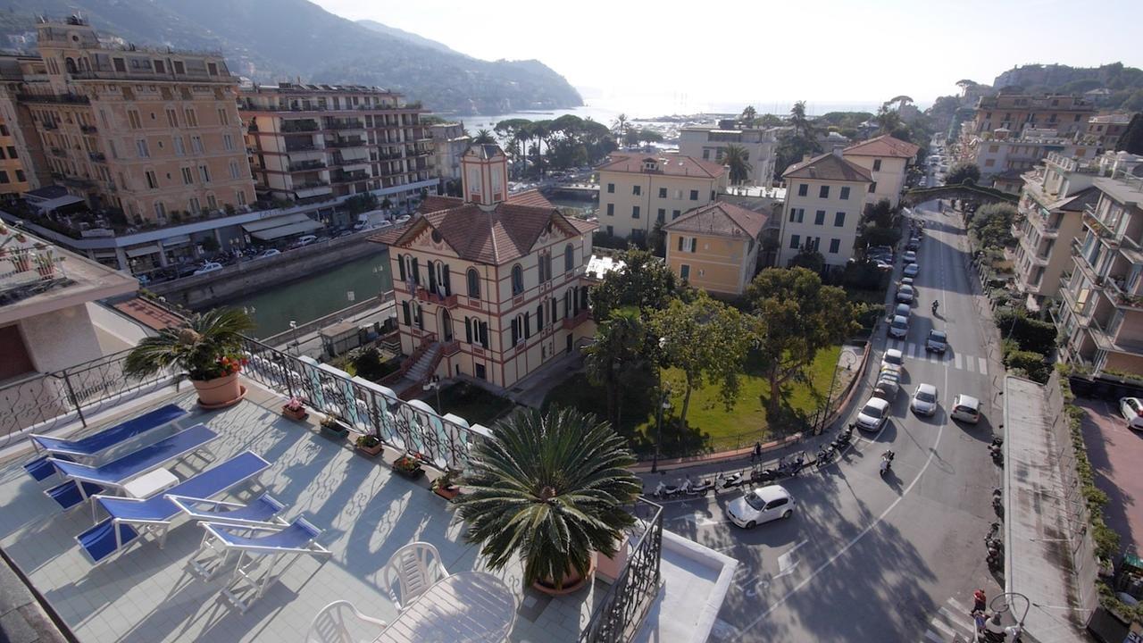 Rapallo - Hotel Stella, a terrace