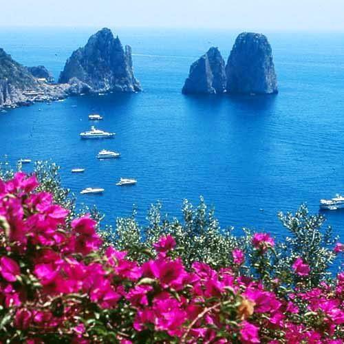Island of Capri - Faraglioni