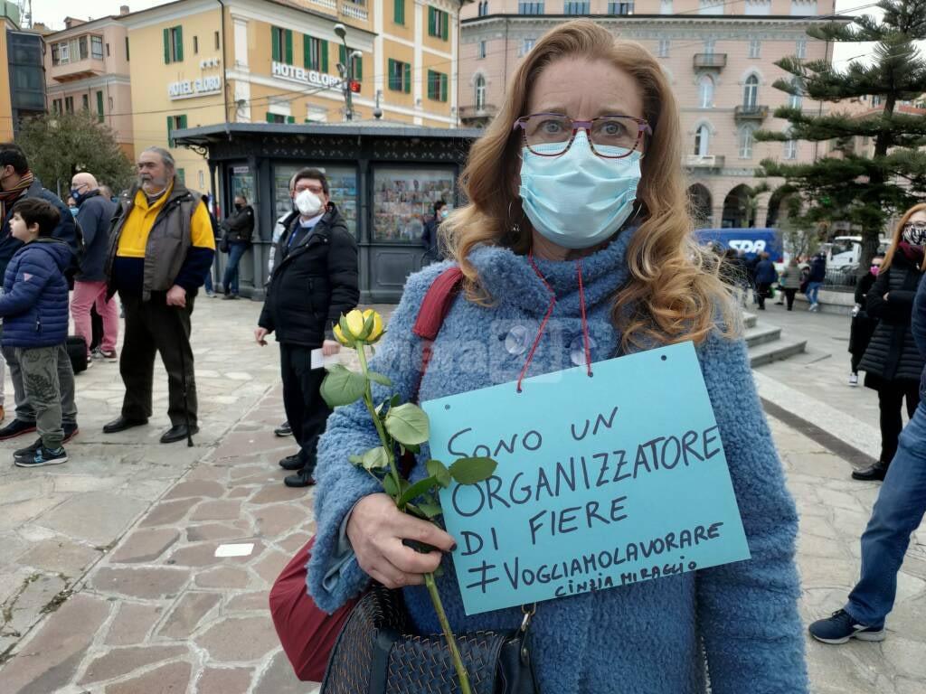 Sanremo 2021 Festival Anti-Lockdown Protest