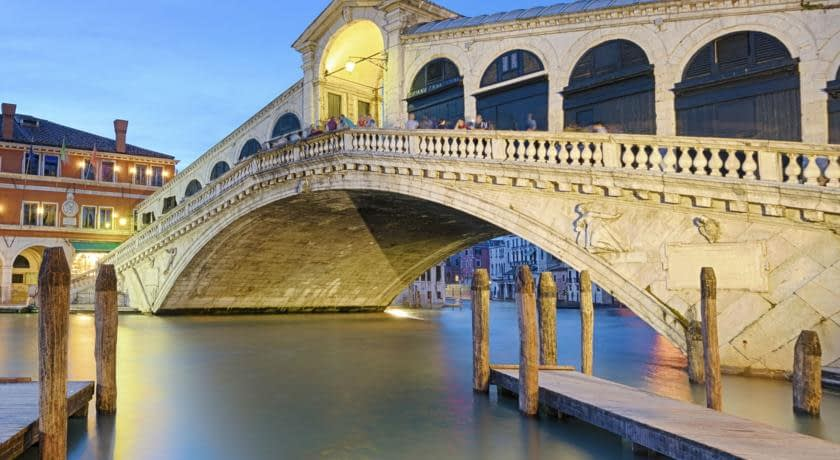 Venice - Rialto Bridge on the Grand Canal