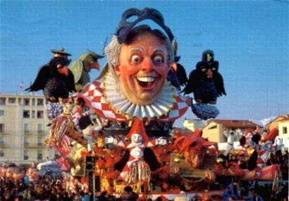 Viareggio Carnival - Dario Fo float