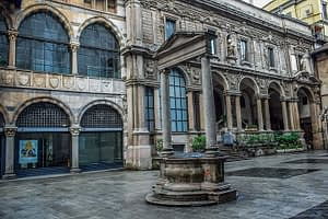 Milan Piazza dei Mercanti Square