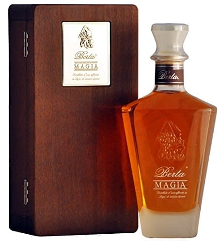Grappa Berta Magia with Wooden Case