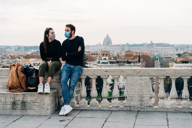 Rome Pincio Gardens Terrace