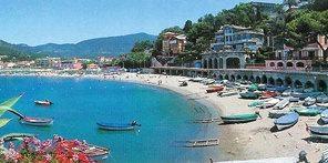Levanto, Cinque Terre, Italian Riviera</ br> Garden Hotel