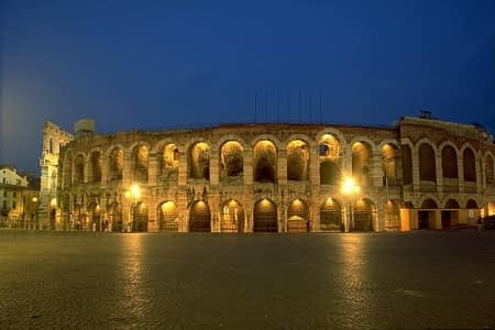 Arena of Verona by night