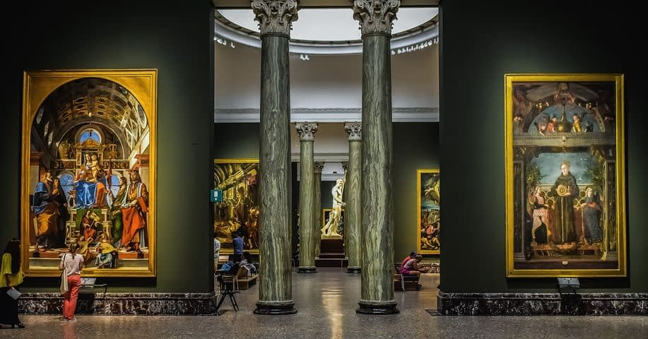 Milan - Pinacoteca di Brera, world-class art gallery