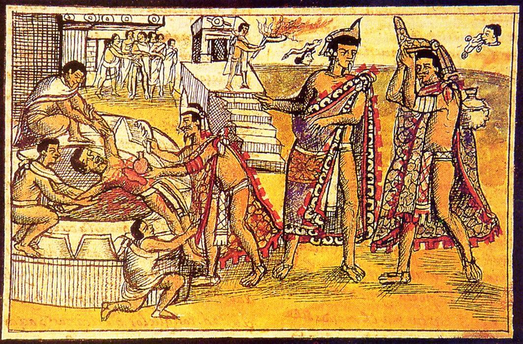 Aztec Human Sacrifice and Cannibalism